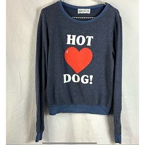 Couture Hot Dog Love Baggy Beach top